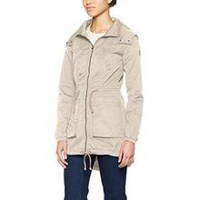ONLY Damen Jacke Onlolga Parka Jacket Otw, Beige (Peyote), 36 (Herstellergröße: S)