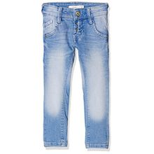 NAME IT Mädchen Jeans Nkmpete Dnmtarzan 2008 Pant Noos, Blau (Medium Blue Denim), 128