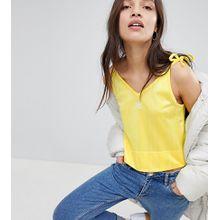 adidas Originals - Fashion League - Gelbes Tanktop im Riemchendesign - Gelb