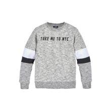 BUFFALO Sweatshirt graumeliert