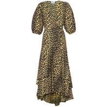 Wickelkleid aus Baumwolle