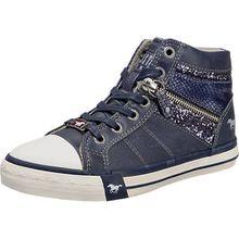 Sneakers High  blau Mädchen Kinder