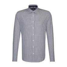 SEIDENSTICKER City-Hemd ' Tailored ' blau