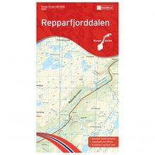 Nordeca - Wander-Outdoorkarte: Repparfjorddalen 1/50 - Wanderkarte Auflage 2015