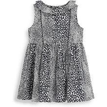 Kleid  schwarz/weiß Mädchen Baby