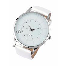 Heine Armbanduhr silber / weiß
