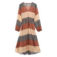 SECOND FEMALE Kleid BOARD mit Glitzergarn