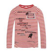 Scotch & Soda R´Belle Mädchen T-Shirt Long Sleeve Artwork Tee, Mehrfarbig (Combo A 21), 140 (Herstellergröße: 10)