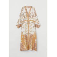 H & M - Kimono aus Lyocellmix - White - Damen