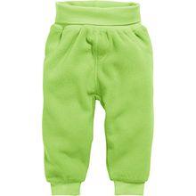 Schnizler Unisex Baby Jogginghose Pump-Hose, Fleecehose mit Strickbund, Grün (Grün 29), 74