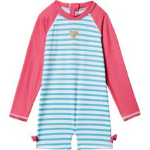STEIFF Schwimmanzug türkis / rot / weiß