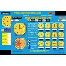 Buch - PRESSOGRAM Zaubertafel - Wir lernen die Uhr