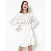 tigha Damen Sommerkleid Alcina weiß (white)