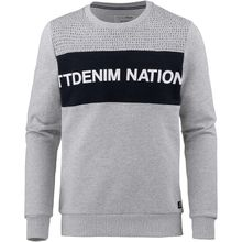 Tom Tailor Denim Sweatshirt Sweatshirts grau Herren