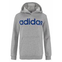 ADIDAS PERFORMANCE Kapuzensweatshirt 'YOUNGBOY LIN HOODIE' blau / grau