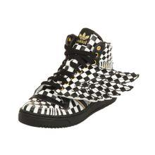 ADIDAS ORIGINALS Sneaker 'Jeremy Scott Sneaker JS WINGS OPART' schwarz / weiß