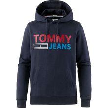 Tommy Jeans Hoodie Pullover blau Herren