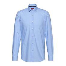 Slim-Fit Hemd aus Baumwolle mit filigranem Karo