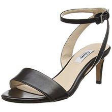 Clarks Amali Jewel, Damen Knöchelriemchen Pumps, Schwarz (Black Leather), 39 EU (5.5 Damen UK)