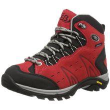 Bruetting MOUNT BONA HIGH, Damen Trekking- & Wanderstiefel, Rot (ROT), 43 EU (10 Damen UK)