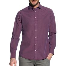 New Zealand Auckland Hemd Custom Fit in lila für Herren