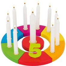 goki Geburtstagskranz Regenbogen mehrfarbig