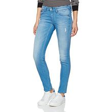 Hilfiger Denim Damen Jeanshose Low Rise Skinny Sophie Scstd, Blau (Santa Cruz Stretch Destructed 911), W29/L34