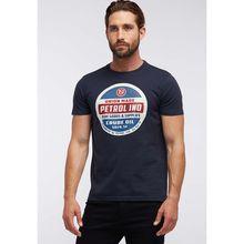 Petrol Industries MEN T-Shirt blau Herren