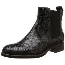 Tamaris 25036, Damen Chelsea Boots, Schwarz (Schwarz (Black SNAKE025)), 39 EU (6 Damen UK)