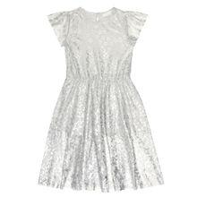 Verziertes Kleid aus Tüll