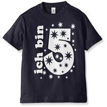 Coole-Fun-T-Shirts Jungen T-Shirt Ich Bin 5 Jahre!, Gr. One Size (Herstellergröße: 116cm/4-5 Jahre), Blau (Navy-Weiss)
