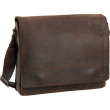 Strellson Notebooktasche / Tablet Richmond Messenger LH Dark Brown