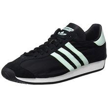 adidas Unisex-Erwachsene Country OG Low-Top, Schwarz (Core Black/Ice Mint F16/Vintage White S15-St), 42 EU