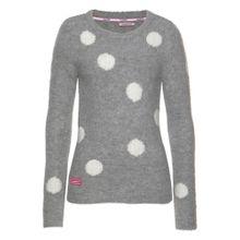 KangaROOS Pullover grau / weiß