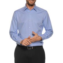 Milano Hemd Custom Fit in blau für Herren