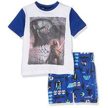 Star Wars Jungen Zweiteiliger Schlafanzug, Blau (Blue 19-3952TC), 4 Jahre