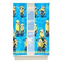 Minions Vorhang Set 104x160cm**bitte Lieferzeiten aus USA beachten !!**