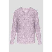 Pullover mit Metallic-Garn