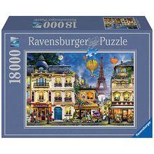 XXL Puzzle 18.000 Teile, 276x192 cm, Abendspaziergang durch Paris
