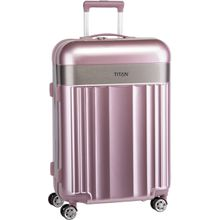 Titan Trolley + Koffer Spotlight Flash 4-Wheel Trolley M Wild Rose (69 Liter)