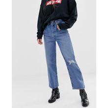 Levi's - Ribcage - Gerade geschnittene Jeans - Blau