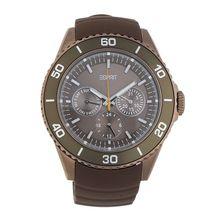 Esprit Armbanduhr Deviate mit ausgefallenem Ziffernblatt ES103622007 Armbanduhren braun Damen