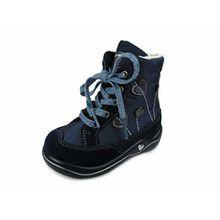 Ricosta Kinder Schnuerstiefel Josi -M- 3821500-175-Josie Blau 360723