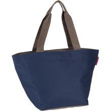 reisenthel Einkaufstasche shopper M Dark Blue (innen: Blau) (15 Liter)