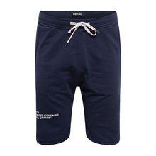 REPLAY Hose Jogginghosen blau Herren