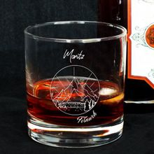Personalisierbares Whisky Glas Fernweh