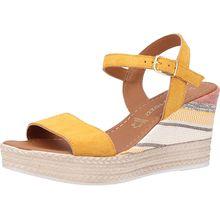 MARCO TOZZI Sandalen Klassische Sandaletten gelb Damen