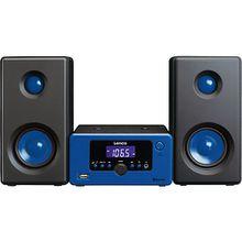 Lenco Micro-Hifi-Anlage MC-020 blau blau-kombi