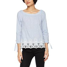 s.Oliver Damen Bluse 04.899.19.4760, Blau (Morning Sky 5321), 42