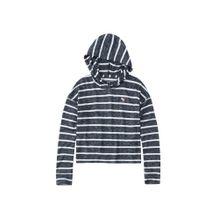 Abercrombie & Fitch Sweatshirt navy / weiß